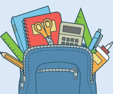 Backpack and School Supply Collection