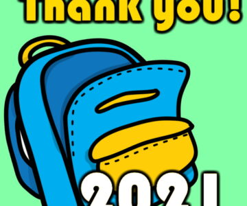 2021 Bookbag / School Supply Giveaway & THANK YOU Video