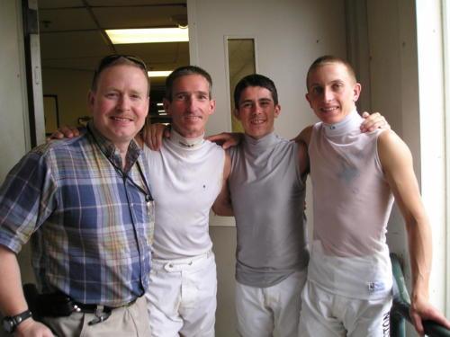 Chaplain and the Jockeys