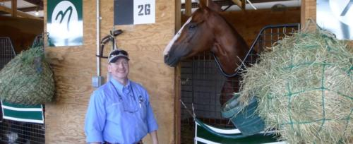 The Chaplain with California Chrome