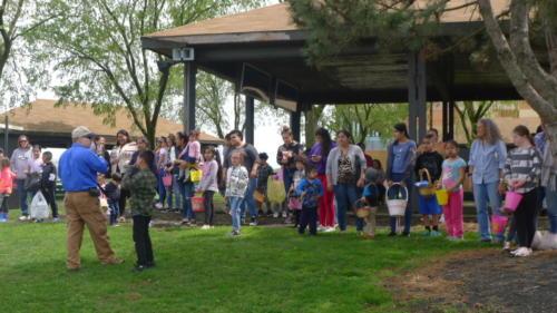Chaplain's Annual Easter Egg Hunt!